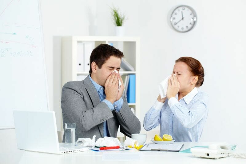 Sick-Day Season: How To Stop The Spread Of Colds And Flu At Work